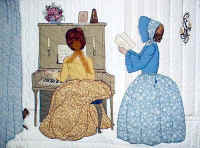 Music Room bonnet girls
